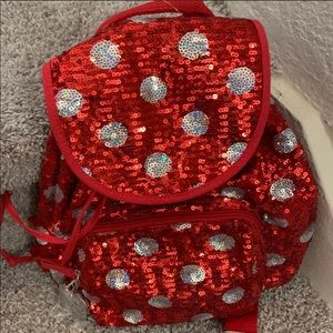 Minnie Sequin Backpack